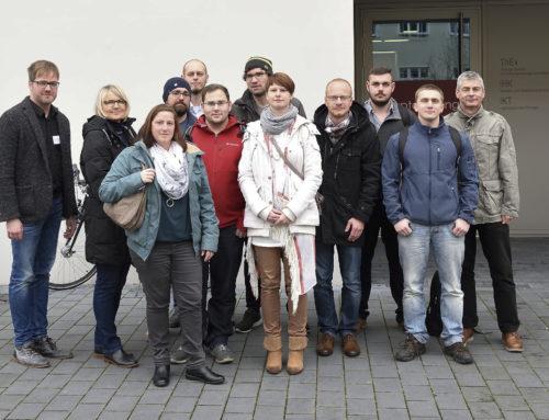 Betriebswirte zu Besuch beim Thüringer Gründertag