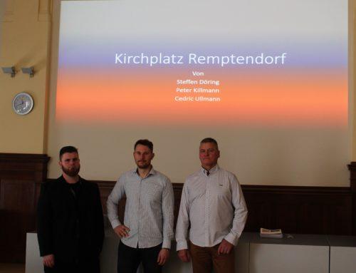 Fachschule Gotha plant Umgestaltung des Kirchplatzes in Remptendorf
